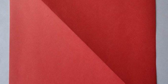 Оригами из бумаги - Бабочка. Пошаговая инструкция с фото