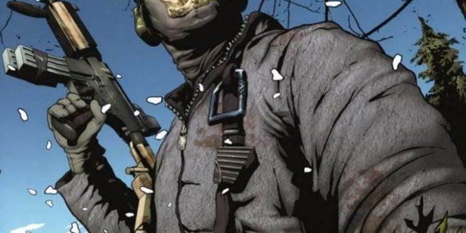 Modern Warfare комикс онлайн. Призрак