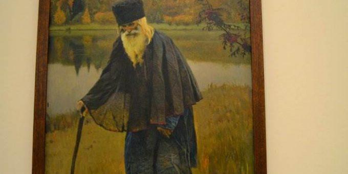 Картины Петрова-Водкина и Михаила Нестерова в Русском музее