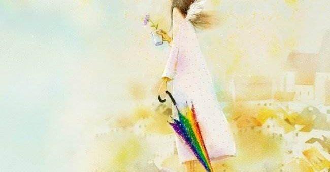 Романтичные рисунки корейской художницы Кристиан Асух
