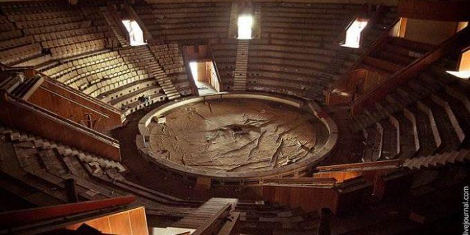 Кишиневский цирк-призрак. Заброшенные места