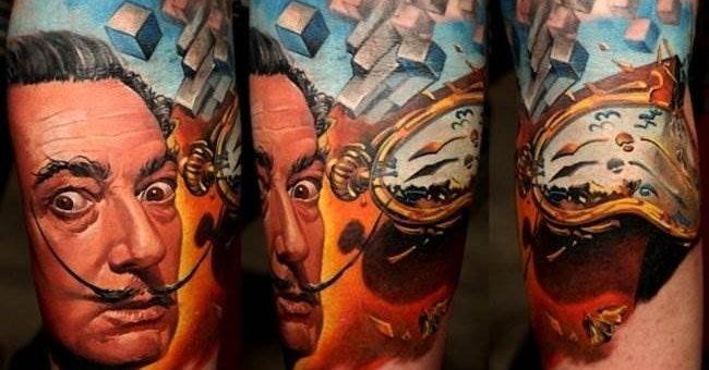 Дмитрий Самохин искусство татуировки