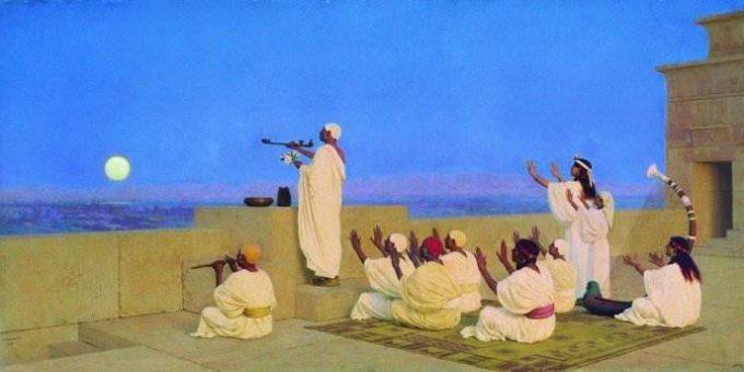 Бакалович Степан Владиславович картина «Моление Кхонсу»