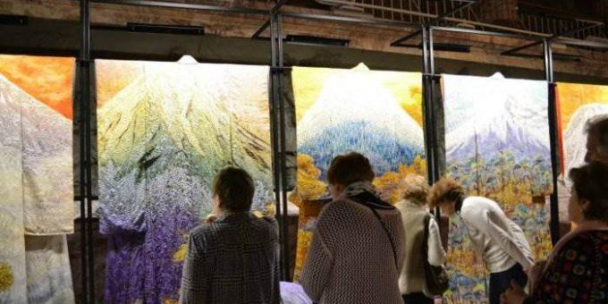 «Преображение кимоно. Мастерство Итику Кубота» выставка в Российском Этнографическом музее