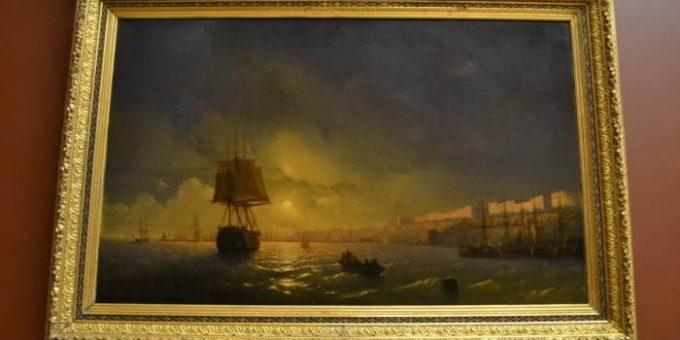 Айвазовский и Брюллов в Русском музее