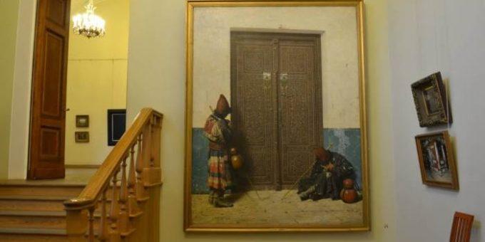 В.Е.Маковский, Коровин и Верещагин в Русском музее
