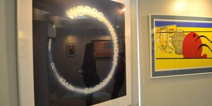 Выставка «Поп-арт форум». Арт-центр «Перинные Ряды», СПб