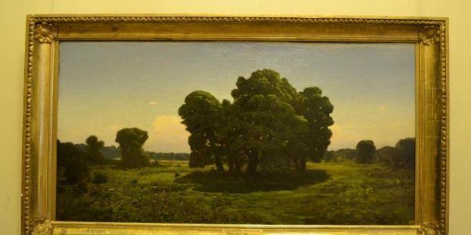 Куинджи и Суриков картины в Русском музее