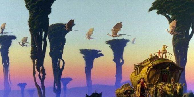 Майкл Уэлан картины знаменитого фэнтези художника
