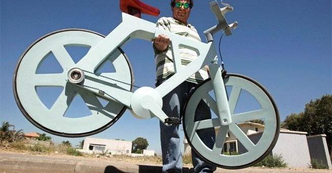 Необычные велосипеды (11 фото)