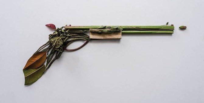 Оружие из растений. Художник-дизайнер Sonia Rentsch