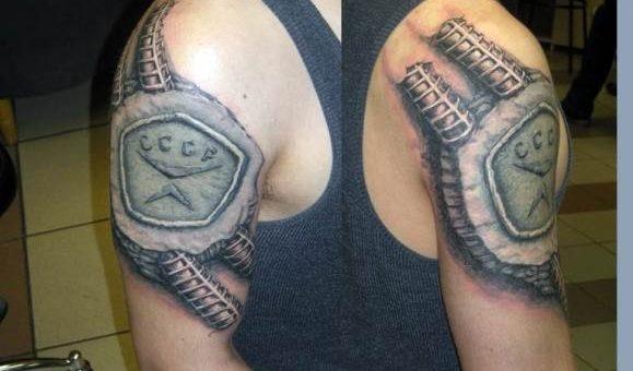 Татуировки по-русски