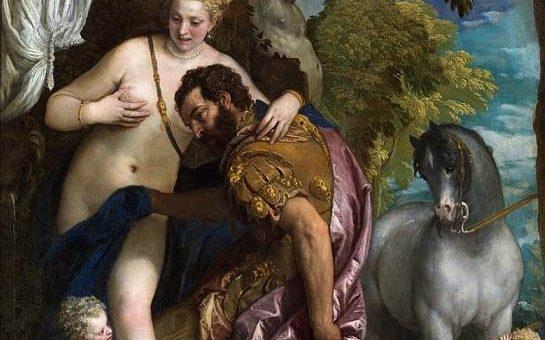 «Марс и Венера» картина Паоло Веронезе