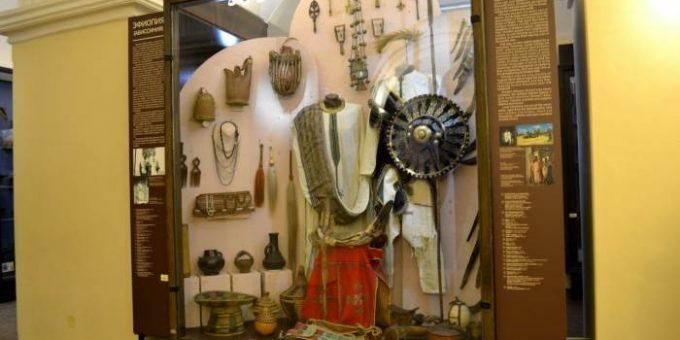 Музей Кунсткамера - экспозиция «Африка»