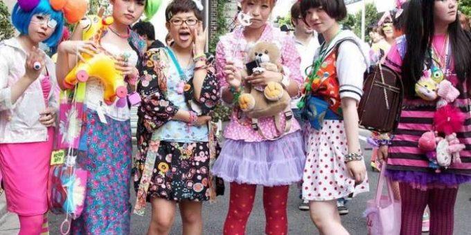 Харадзюку стиль района в Токио (12 фото)