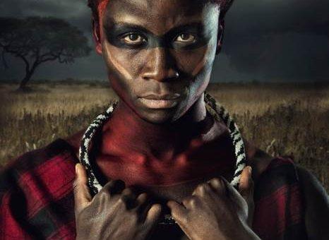 Lee Howell серия фотографий Maasai