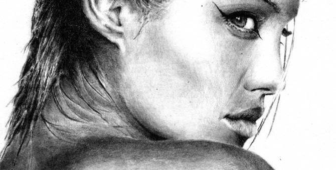 Портреты известных людей, художник Amber Jacobs