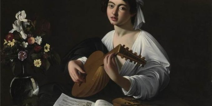 «Лютнист» картина Караваджо