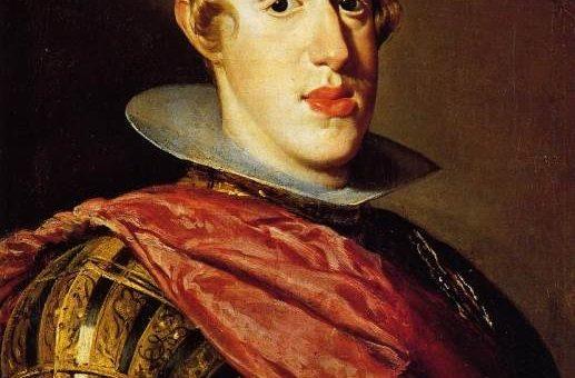 «Портрет Филиппа IV в латах» картина Диего Веласкеса