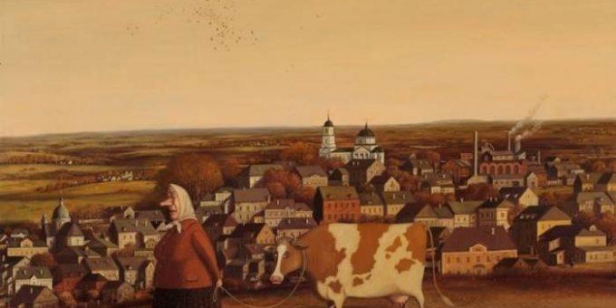 Валентин Губарев картины