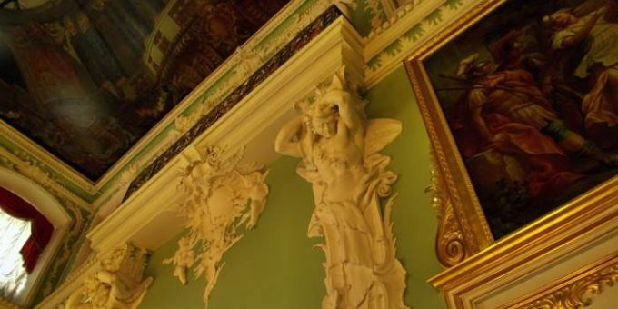 Строгановский дворец в Петербурге (23 фото)