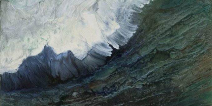 Художница Лия Мелия (Lia Melia) - динамичные волны