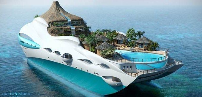 Концепт яхты будущего