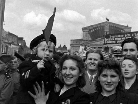 Москва 1947 из архива журнала «Лайф»