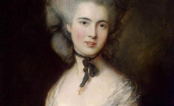 «Портрет герцогини де Бофор» картина Томаса Гейнсборо