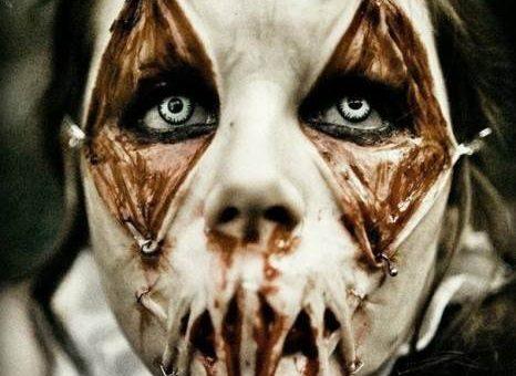 Самый страшный макияж на Хэллоуин