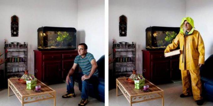 Бруно Ферт - фотопроект «Рабочая одежда»
