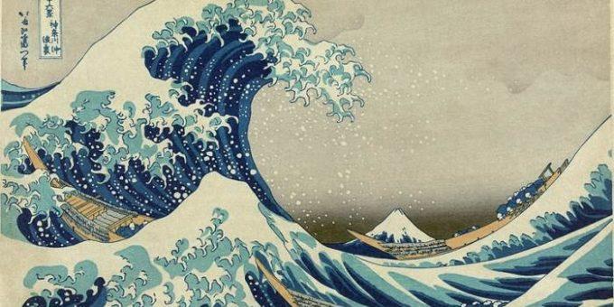 Кацусика Хокусай картины