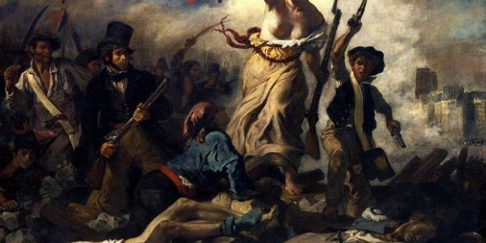 «Свобода, ведущая народ» картина Делакруа