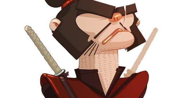 Иллюстратор Dor Shamir - Самураи