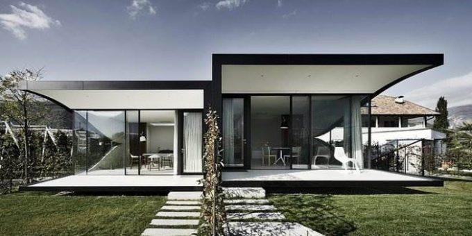 «Mirror Houses» зеркальные дома в Альпах