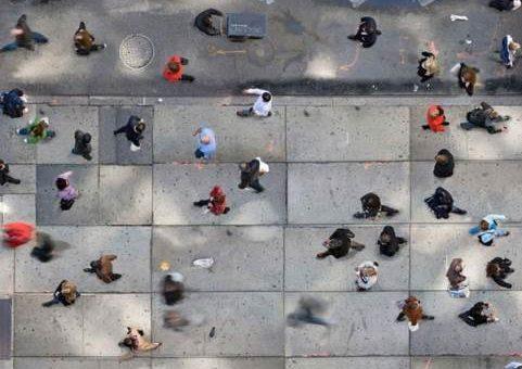Фотограф Кэтрин Корфман - Люди с высоты птичьего полёта