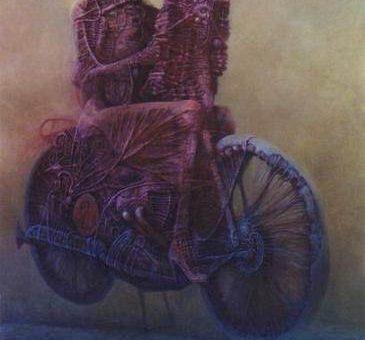 Здзислав Бексински мрачный сюрреализм