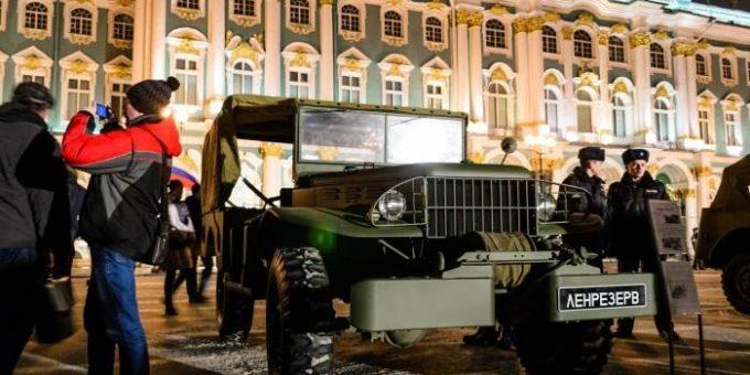 День снятия блокады Ленинграда 27.01.2015 (Дворцовая пл.)