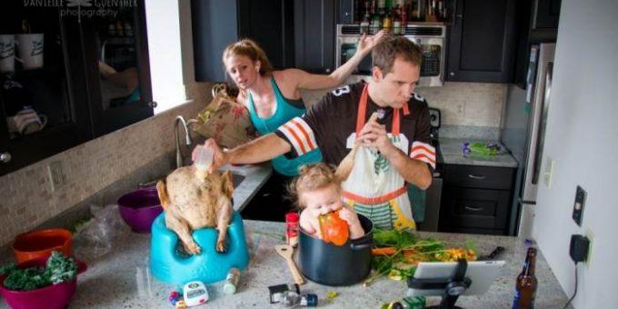 Фотограф Даниэль Гюнтер (Danielle Guenther) - будни семейной жизни
