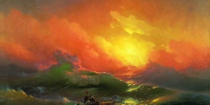 «Девятый вал» картина Айвазовского
