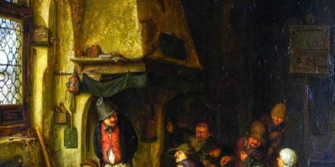 Исаак ван Остаде картины