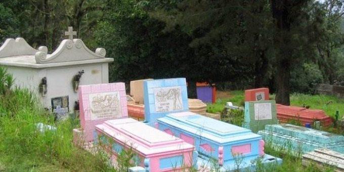 Разноцветные кладбища в Гватемале
