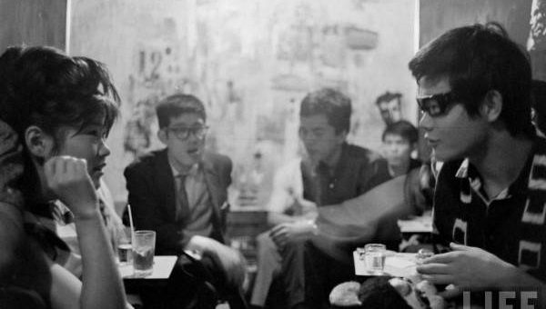Японская молодежь 60-х фото