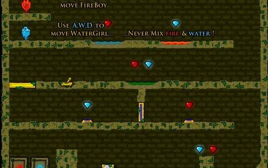 Fire Boy & Water Girl и Pick & Dig
