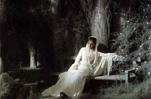 «Лунная ночь» картина Крамского