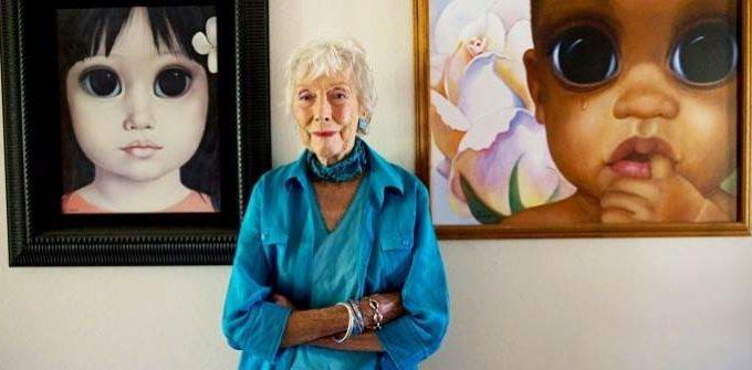 Картины Маргарет Кин - Большие глаза