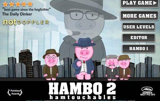 Стрелялки Hambo 2 и Astrodog