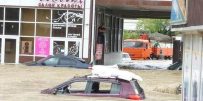 Наводнение в Сочи 25 июня 2015 фото и видео