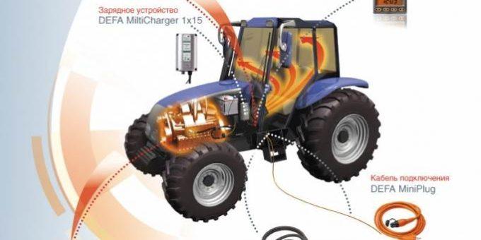 Оборудование и аксессуары для тракторов Дефа
