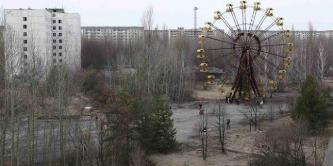 Чернобыль фото до и после аварии